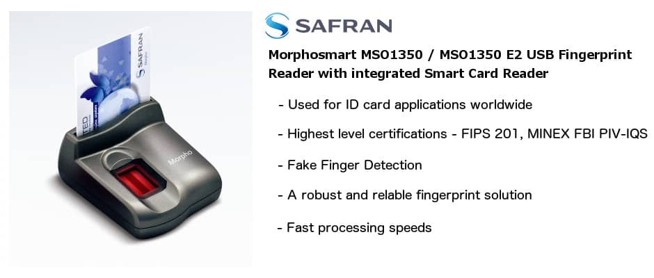 Morphosmart MSO 1350 and 1350 E2