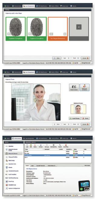 Idemia / Safran Morpho MorphoManager Software