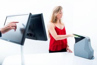 FBI Certifies MorphoWave Desktop Contactless Fingerprint Scanner
